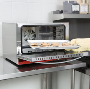 Half Size Countertop Convection Oven 1 5 Cu Ft 120v 1600w