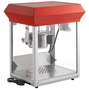 4 Oz Commercial Stainless Steel Popcorn Machine Popper Electric 120v 470w