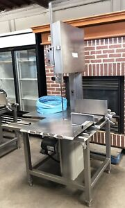 Hobart 6801 Commercial Meat Saw new Blades 6 Month Parts And Labor Guarantee