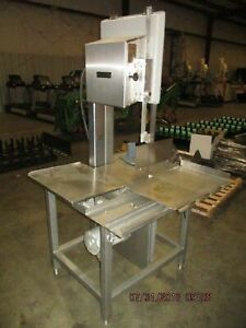 Hobart 5801 Commercial Meat Saw new Blades 6 Month Parts And Labor Guarantee