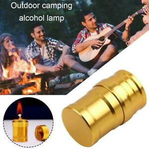 Mini Portable Spirit Burner Alcohol Stove For Outdoor Camping Bbq Hiking N4i2