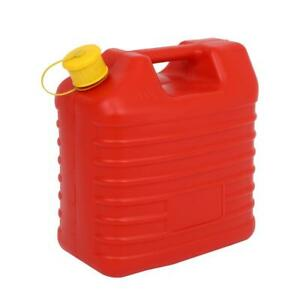 10l Fuel Can Oil Water Petrol Diesel Storage Can Gas Tank Emergency Backup Red