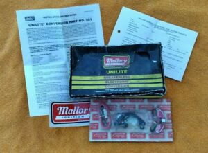 Mallory 501 Unilite Breakerless Ignition Conversion Kit New Never Opened