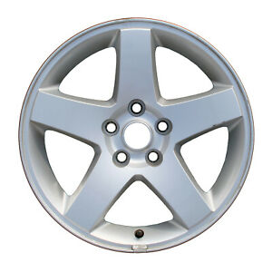 02325 Refinished Dodge Charger 2008 2010 17 Inch Wheel Rim Machined And Silver
