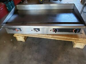 Star 548tgd 48 Commercial Electric Griddle 208 240v