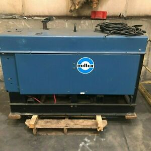 Miller Big 40 Welder Generator Arc Tig Mig Jobsite Welder Excellent Condition