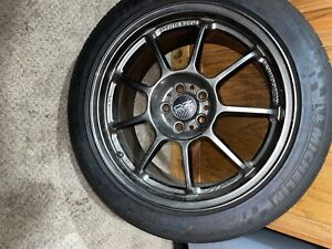 Subaru Wheels And Tires 2014 Wrx Oz Racing Michelin Tires Combo