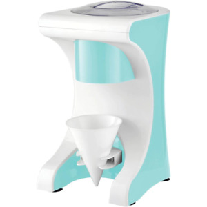 Snow Cone Maker With Shaved Ice Machine 5 6 Fl Oz Summer Blue