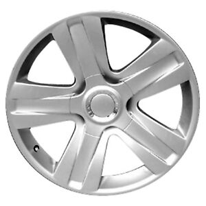98060 Refinished Bentley Continental 2007 2010 19 Inch Wheel All Painted Silver