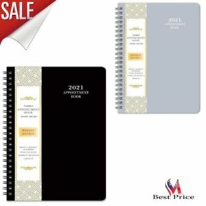 Organizer Appointment Book 2021 Daily Weekly Monthly Schedule Agenda Planner