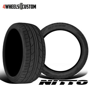 2 X New Nitto Nt555 G2 255 45r18 103w Ultra high Performance Sport Tire
