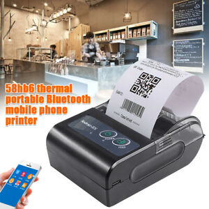 Portable Wireless Pos Bluetooth Usb Thermal Receipt Printer Support Ios Android