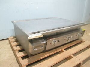 keating 36ld36x30e Hd Commercial 36 miraclean 208 240v 3 Electric Griddle