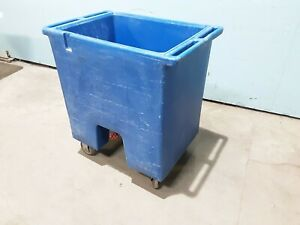 cambro Ice Cart Ic175t Commercial H d Poly Cart cold Food Ice Carrier Cart