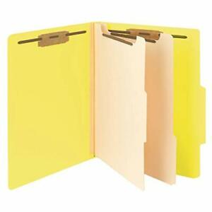 Smead Classification File Folder 2 Dividers 2 Expansion 2 5 cut Tab Letter S