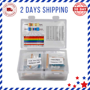Resistor Kit Metal Film Resistors Assortment Easy To Use And Durable Best New