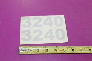 Nos Montana Tractors 3240 Decals Acquired From A Closed Dealership See Pic