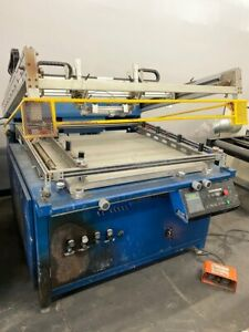 30 X 40 M r Eclipse Graphic Screen Printer Printing Press
