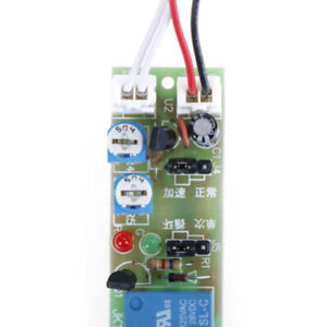 Dc 12v Loop Delay Timer Control On Off Infinite Cycle Adjustable Relay Module