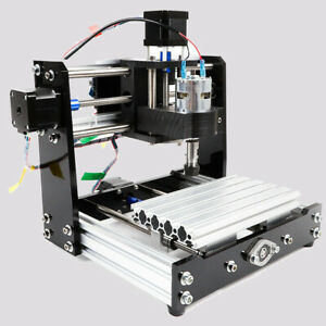 Cnc Diy Router Kit Engraving Milling Machine Grbl Control 3 Axis Collet 100 240v