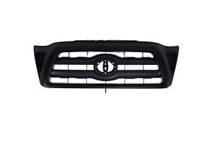 Black Front Grille Grill Replacement Fit 05 11 Toyota Tacoma Pickup Truck New Fits 2007 Toyota Tacoma