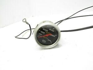 Autometer 2 5 8 Pro comp Liquid Filled Oil Temp Gauge Dragracing Imca