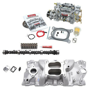 Edelbrock 1406 600 Cfm Performer Power Package Small Block Chevy