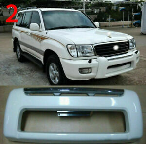 Fit For Land Cruiser Lc100 Lexus Lx470 1998 2007 White Front Bumper Guard Bar