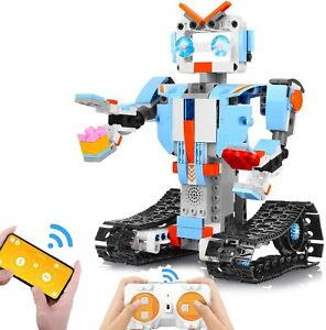 Aokesi Building Block Robot Kits For Kids Remote App Control Snap