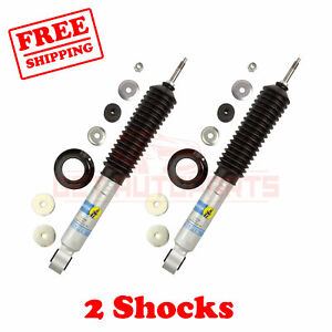 Bilstein B8 5100 R h a Front 1 3 2 4 Lift Shocks For Toyota Sequoia 2wd 01 07