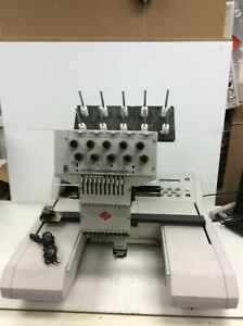 Melco Embroidery Machine 00931801 Emc 10t for Parts repairs As Is