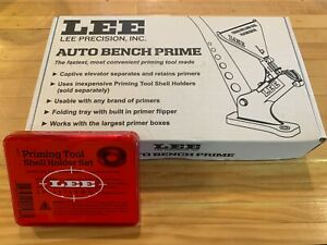 Lee Auto Bench Priming Tool 90700 w Lee Shell Holder Set 90198 Brand New $99.00