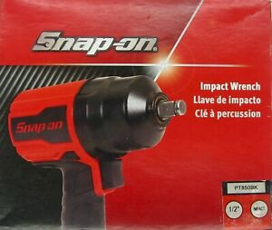 Brand New In Factory Packaging Snap On 1 2 Drive Red Air Impact Wrench Pt850bk