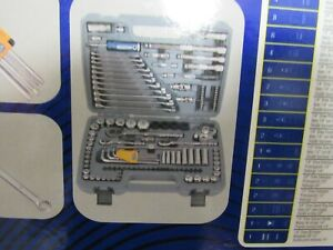 Blue Point Tools 128 Piece Metric Sae General Service Set New
