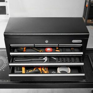 Organiser Tool Box Lockable Top Chest Storage Drawers Garage Mechanic Heavy Duty