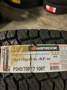2 New 245 70 17 Hankook Dynapro At M Tires