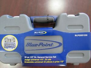 Blue Point 33 Piece 1 2 Dr Metric sae General Service Set New