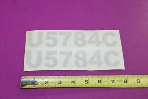 Montana Tractor U5784c Decals Acquired From A Closed Dealership See Pic
