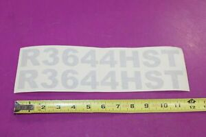 Montana Tractor R3644hst Decals Acquired From A Closed Dealership See Pic