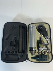 Vintage Welch Allyn Otoscope Ophthalmoscope In Case