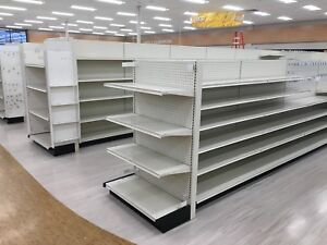 Lozier And Madix Gondola Shelving And Pharmacy Shelving For Sale