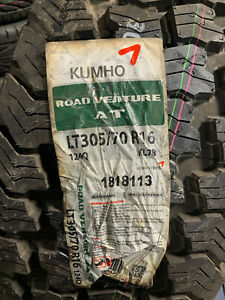 2 New Lt 305 70 16 Lre 10 Ply Kumho Road Venture At Tires
