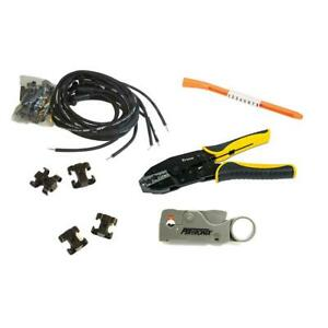 Msd Street fire V8 Wire Set And Install Kit Hei 90 Degree