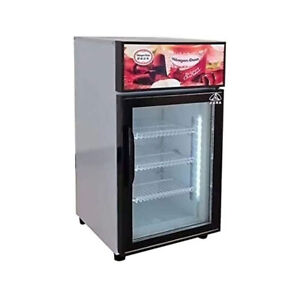 Commercial Tabletop Ice Cream Freeze Countertop Gelato Showcase Display Freezer