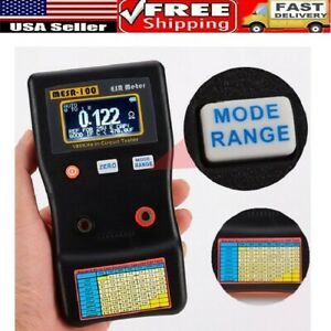 Mesr 100 V2 0 001 To 100r Auto Ranging In Circuit Esr Capacitor Tester Meter Us