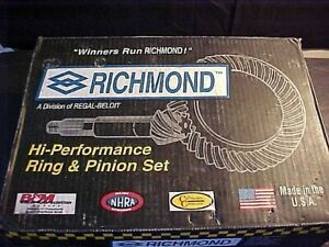 Richmond Gear 79 0045 1 Ford 9 Pro Gear Ring And Pinion Set Drag Racing