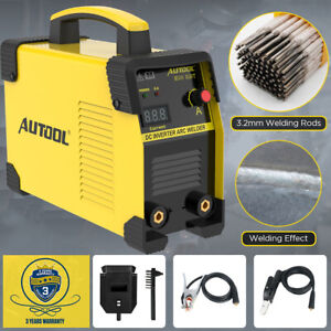 110v Digital Welding Machine Dc Igbt Inverter Arc Mma Stick Welder Portable
