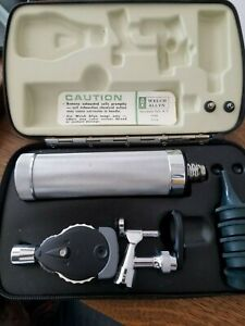 Welch Allyn Diagnostic Set Ophthalmoscope Complete With Case