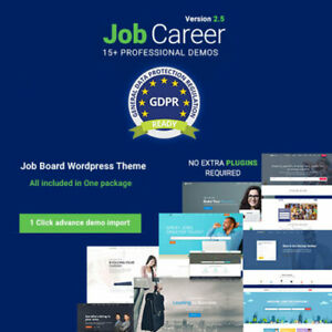 Jobcareer Job Board Responsive Wordpress Theme Wordpress Plugins And Themes