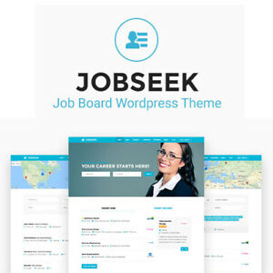 Jobseek Job Board Wordpress Theme Wordpress Plugins And Themes